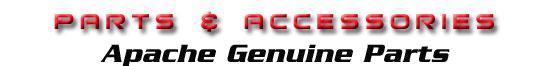 apache genuine parts and accessories