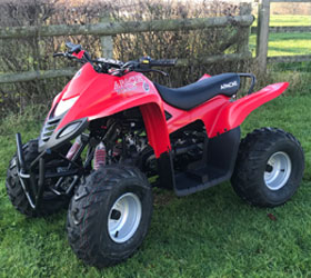apache rlx 100 quad bike