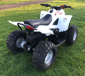 apache quad bike rlx 100