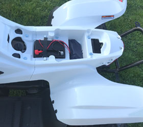 apache quad bike rlx 100 white