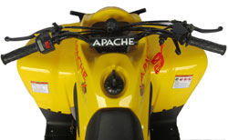 apache quad yellow rlx 100